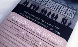 """For Sale: Previously viewed Band of Brothers (6-disc DVD Box Set) - $20 """"Band of Brothers is an award-winning 10-part HBO series. It follows Easy Company, the 506th Regiment of the 101st Airborne Division, through its mission in World War II's European"""