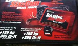 Selling a brand new never hooked up banks 6-gun tuner for a 2000-2004 Chevy duramax, has everythig to hook it up,I ordered two by accident, so I need it gone This ad was posted with the Kijiji Classifieds app.