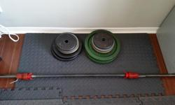 barbell=weights mentioned above.(come in pair).very good condition.must go.don't use them anymore