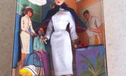 Brand new in box. Replica 1961 nurse doll This ad was posted with the Kijiji Classifieds app.