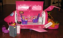 Barbie Glam Jet with all the accessories; in excellent condition.