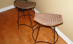 Two barstools for $25.00 for the pair.  Pier 1 sells the exact same stools in their stores for a lot more.  Call 905-925-6961.