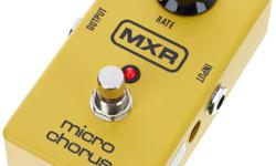 MXR GUITAR MICRO CHORUS M148 -HARDLY USED, ORIGINAL BOX, SELLING 60$ https://www.long-mcquade.com/10507/Guitars/Guitar_Effects/Dunlop/M148_-_Micro_Chorus.htm MOOER BASS CHORUS MICRO PEDAL / P�DALE MICRO CHORUS MOOER BASSE -HARDLY USED, ORIGINAL BOX,