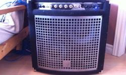 Looking to sell my very lightly used Yorkville Bass Master XM200. This is a great combo amp for a beginner/intermediate. I've used it for light gigs only a handful of times. Asking $550 o.b.o. Bought it from the great folks at John Bellone's on York St.
