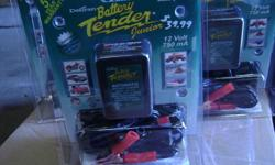 Battery Tender Sale $39.99 While They Last Perfect for storage of bikes, quads, boats, etc. Five year warranty. Only $39.99 Cory`s Motorcycle Sales & Salvage 766 Campbell St. Sarnia *Moving to 433 S. Palmerston at end of year* Phone 519 402 BIKE (2453)