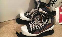Skate size 7.5. In great shape - no scuffs on toes. Used one season. Over $300 new.