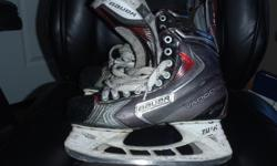 Bauer Vapor X90 Skates, sz 8.5,quick change blades,good shape,extra set of blades