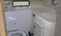 Please see below for all specs on this boat.  I am the second owner of this boat and have all documnetation for it.  This boat has been serviced and winterized by Baddeck Marine http://baddeckmarine.com  since it was purchased new from Quarter Master
