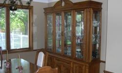 I am wanting to get rid of my Dining set and buffet and hutch and double pedestal table that opens to 8 feet with 6 chairs must go this week moving to brights grove. Open to any offers! come check it out! call me at 519-542-5384 Will not be reading emails