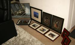 Cleaning up the family estate and selling these pictures that are suitable for all rooms in your apartment/house. We couldn't photograph these well due to our sad skills of taking photos, so we were not able to show the rich colors in them. Distinguish