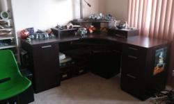 Selling with $150, if you pick it up in a day. It needs to get out the the house quickly. :) Perfect condition (just a bit of dust). I paid about $500 + taxes when new. Selling ONLY the workstation and not the Star Wars lego.:) Perfect for a child room or