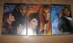 Beauty & the Beast DVD Series - INCLUDES: The First Season The Second Season The Final Season Want to sell together Get ALL for ONLY $25 EXCEPTIONAL DEAL!!! can meet in west end of ottawa (kanata) or pickup in Constance Bay