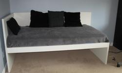 Ikea Flaxa bed and pull-out. Mattresses included, one pillow-top.