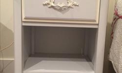 Professionally painted night table