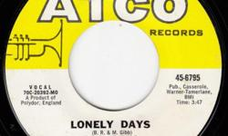 Six singles: I.O.I.O. Lonely days...great tune...still not convinced it wasn't John Lennon How Can You Mend A Broken Heart My World Run To Me Alive...don't look now...but Disco and the rebirth of the Bees Gees are right around the corner Six 45s for a