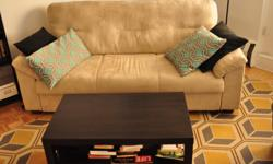 Beige Couch $250 http://www.ikea.com/ca/en/catalog/products/60206871/ - Used for 2 years and in perfect condition (no stains, scratches, etc). - See links for item dimensions & details. - Assembly instructions available. - Pick-up only, Milton &
