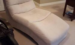 Beige Microfiber Living Room Lounge Chair excellent and clean condition, was about $800 new.
