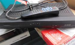 Bell Expressvu 3100 satellite receiver with remote. Located in Ladysmith