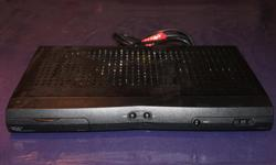 Bell Standard Definition 3100 receiver with remote