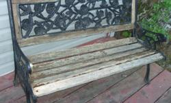 With a coat of stain this bench will be back to life in no time! We don't have the time but want it to go to a good home before it's too late. Need it gone - No reasonable offer refused!