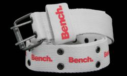 I don't think I even got around to wearing these...BENCH Cheer Rivet Belts...One Black and Pink and the other White and Pinkish Red $15.00 each Pick Up South End of Barrie