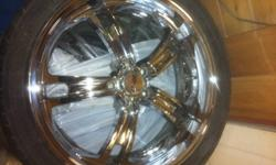 """Great Shape! 20"""" MSR Chromes with nankane rubbers! Contact me now! This ad was posted with the Kijiji Classifieds app."""