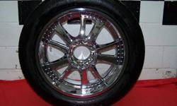 4 BF Goodrich KDW2 295/45/20 These tires are in excellent condition. Very little mileage. No leaks or repairs. Used primarily as show tires. This is the tire that Chip Foose uses on all of his builds. Spring is around the corner - these are a perfect
