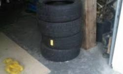 For sale BFG Traction T/A Tires 205/55R16 Great Condition, about 60-70% tread