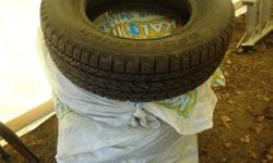 """Perfect for light truck or a van. Like new condition. Used only one winter. Less than 3000km. New pickup on the way with 20"""" rims... Will not fit."""