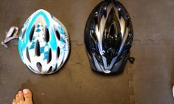2 bike helmets $10 each