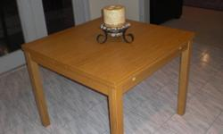 Bjursta solid wood table from IKEA in an excellent condition. Hardly used. Asking price is $ 150.00