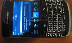 Backberry Bold 9700 Locked to the Bell network(can unlock if needed) Blackberry OS 6 7/10 condition Comes with original packaging and accessories Comes with screen protector and silicon case Email or text if interested