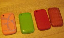 green, pink, red and orange TNA. all are jelly all in great condition. $15.00 for all four