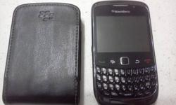 Blackberry Curve 9300s 3G for sale. 3G & Wi-Fi Capable. Complete with all regular accessories leisure + protection pocket. Used only 2 weeks. Got professional phone now so no need for it. SIM Unlocked Rogers, Fido, etc.. Contact 2508083628