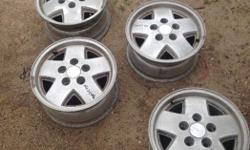 """1983-93 Chevy Blazer,Jimmy 15"""" alloy wheels. Text or call"""