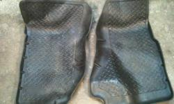 Front floor mats for sale. Lifted edges. $50.00 O.B.O.