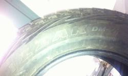 2 only great blizzak dzm-1 snowtires. Lots of tread! 275/65 r18 One seasons use. sorry for the super crappy pics...they look far more enticing in person...lol! $150 pair This ad was posted with the Kijiji Classifieds app.    NOW $75????!!!