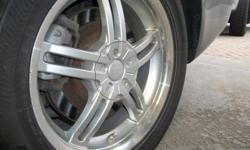 Bridgestone Blizzak LM-22 winter tires on GM 5-bolt alloy rims (5 on 114.3 bolt pattern)   Used one season.  $1,800 when new.   $1,100 OBO   Call (905) 357-2928