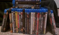 listed below are blu ray titles up for grabs. all in working order with minimal use. 4$ each [6 for 20] 8$ 3D 3D - Life of Pie 3D - Hobbit: Unexpected Journey 3D - Exodus Gods and Kings 3D - Hugo Amazing Spiderman Xmen Days of Future Past Napoleon