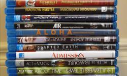 We have a variety of blu-rays for sale. Many have been watched once, placed onto the shelf and are now collecting dust. It is time to part ways and let someone else enjoy this large collection.
