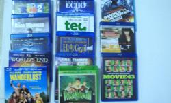 BLU-RAY MOVIES $2 EACH - TITLES - ECHO - DEAD IN TOMBSTONE - MOVIES 43 - SALT - THE ROAD WARRIOR (MEL GIBSON) -THE DARK KNIGHT - HORRIBLE BOSSES - RIO 2 - PARANORMAN - MONTY PYHON'S HOLY GRAIL - FINAL FANTASY - WORLD'S END - WANDERLUST . CONTACT PHONE