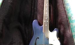 electric mandolin beautiful blue finish more details coming soon