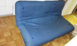 Blue Futon Mattress in good, clean condition. Yours for $10