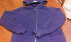 This sweater is a ladies size 10. It is gently used. If you are interested, please contact Bridget @ 705-575-9464.