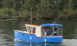 2015 home-built tug boat. 20.3' long x 8' wide. Fibreglass on plywood. 15hp Mercury outboard with less than 30 hours. complete with fish sounder and 2 manual Scotty downriggers.