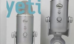 The Yeti is a USB microphone for professional recording. THX certified, it sends incredible audio directly to your computer with a high-quality analog-to-digital converter and boasts incredibly low distortion, high fidelity, and a balanced frequency