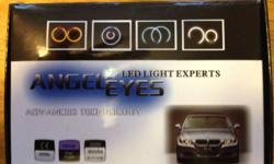 I am selling a new pair of angel Eyes for a BMW 3 series 08-2001 or a 5 series 08-2010. These are the top of the line upgrade ones, simp[le plug and play. Paid $65 plus shipping will let go for $40