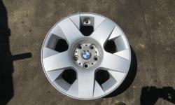 These are factory rims from a BMW 7 Series. Very good condition. Set of 4 with center caps. Sold for back storage fees