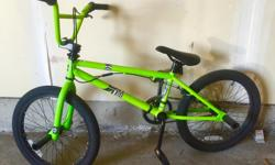 """Selling BMX 20"""" Rise Bike like brand new hardly used price is negotiable."""