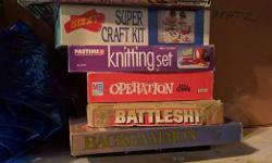 Hey guys, I'm selling some children toys, and family board games If interested please email or text me! Board games: $5.00 each Knitting set: $3.00 Doctor's kit (Small set): $1.50 Bratz Teenage dolls (Each doll(Except some) comes with a bag full of items